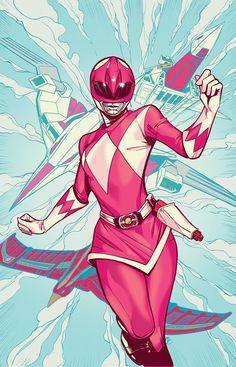 Pink Ranger by Joelle Jones