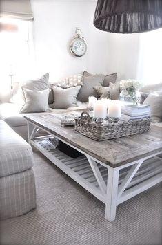 25 Ideas para decorar tu mesa de café