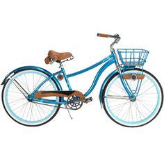"26"" Huffy Cape Cod Women's Cruiser Bike, Metallic Aqua $179 at Walmart. model #56634P7"