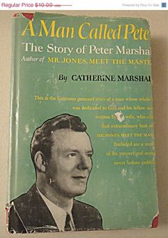 Sale 1951 HB/DJ Biography A Man Called Peter by by 1kingsdaughter