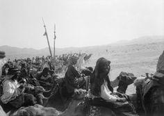 Arab Rebels. WWI. 1915