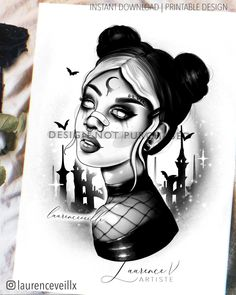 Mirror Tattoos, Cyberpunk Tattoo, Printable Tattoos, Thigh Tat, Tattoo Templates, Leg Sleeve Tattoo, Gothic Tattoo, Delicate Tattoo, Colour Tattoo