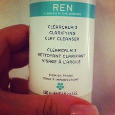 No 4 Caroline Hirons: REN Clearcalm 3 Clarifying Clay Cleanser - Review £18:00