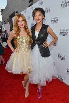 Pin for Later: BFFs Bella Thorne and Zendaya Went From Disney Stars to Fashion Icons in Only 6 Years