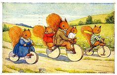 Margaret Tempest loves active vibrant squirrels