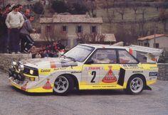Rallye Monte Carlo 1986 - Gruppe B Audi S1 E2 - Walter Röhrl