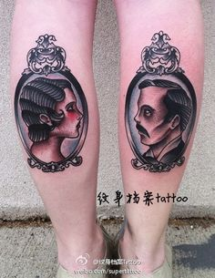 Cool #portrait #tattoo