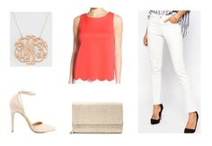 Class to Night Out: Scalloped Hem Tank Top - College Fashion