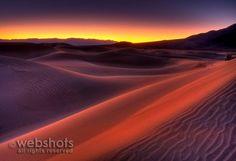 Death Valley Dunes sunrise