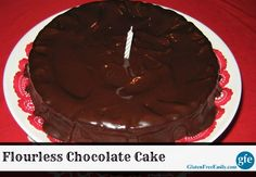 Gluten-Free Flourless Chocolate Cake from Gluten Free Easily
