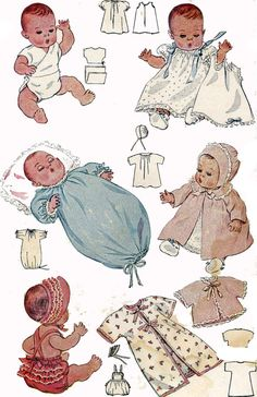 Vintage Doll Clothes Pattern 2659 For 11 In Dy Dee Doll By Effanbee 1940s