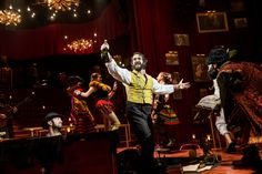 Photo 2 of 9 | Josh Groban as Pierre in Natasha, Pierre and the Great Comet of 1812. | Show Photos: Natasha, Pierre and the Great Comet of 1812 | Broadway.com
