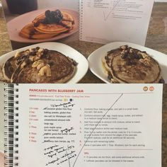pancakes from Autumn's recipe book! Nutritious Smoothies, Fruit Smoothies, Smoothie Recipes, Fixate Cookbook, Cookbook Recipes, Baby Set, 21 Day Fix Breakfast, Fixate Recipes, 21 Day Fix Diet