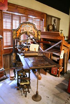 la printers fair wood type on bed by ♥ paper pastries, via Flickr
