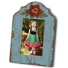 M Home Decor Blue Wood Picture Frame With Flower ($21) ❤ liked on Polyvore featuring home, home decor, frames, wooden frames, blue picture frames, wooden picture frames, wood home decor and blue home decor
