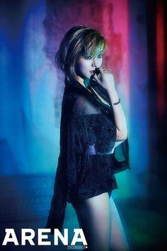 AOA's ChoA is a sensuous vixen in 'Arena Homme Plus'   allkpop.com