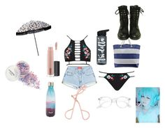 """""""Untitled #2105"""" by inspiredbyart345 on Polyvore featuring River Island, S'well, MAC Cosmetics and Chanel"""