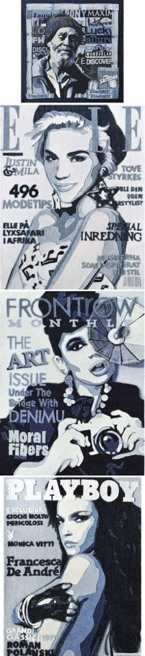 By Ian berry Ian Berry, Blue Jean Quilts, Denim Art, Diy Jeans, Gcse Art, Deconstruction, Textile Art, Illustrations Posters, Fiber Art