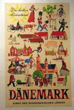 vintage travel poster 1952