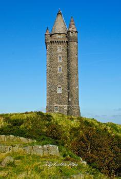northern ireland landmark | Scrabo Tower Newtownards in County Down