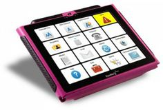 Dynavox technology allows for communication for non-verbal students. These can be used at home, in the classroom and in the general community. The programs on the Dynavox could be created specifically for the needs of the student.