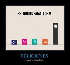 RELIGIONES - y su nivel de fanatismo