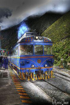 Tren a Machu Picchu desde Aguas Calientes