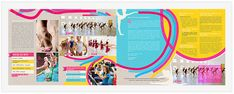 These school brochure design samples will help you to create a wonderful brochure and satisfy your school management or impress your important clients. Brochure Design Samples, School Brochure, Design Desk, Dance, Dancing