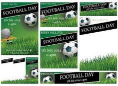 Football - Published PTA Templates and Poster Kits