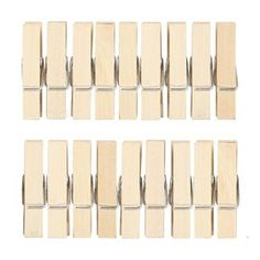 Pegs can be about much more than holding your washed laundry in place. These pegs can be used as decorative sock holders, for jewellery display and more. Wooden Pegs, Home Office Furniture, Jewellery Display, Bamboo, Home Improvement, Packing, Dandelions, Decor, Teacher Stuff