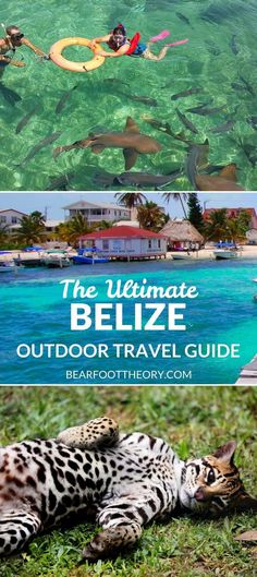 Plan an adventurous trip to Belize with our outdoor travel guide featuring the best outdoor activities, destinations & most popular blog posts.