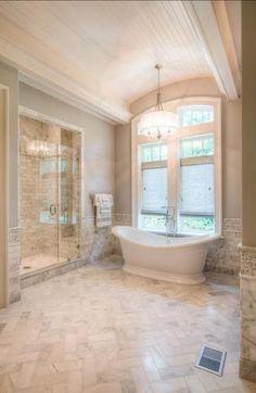 Master Bathroom Decor and Design Ideas – Home Decor Ideas Bad Inspiration, Bathroom Inspiration, Dream Bathrooms, Beautiful Bathrooms, Rustic Bathrooms, Master Bathrooms, Small Bathrooms, French Country Bathrooms, Modern Bathroom
