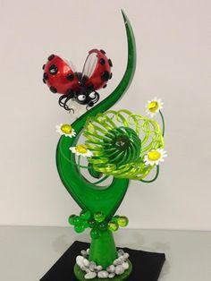 EMMANUELE pitchfork! Sugar Art, Flowers & Ladybug
