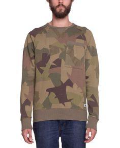 Penfield - Bridgeport Crew Sweater Jungle Camo - SOTO Berlin