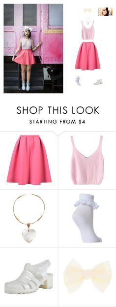 """""""Melanie Martinez Inspired"""" by hanakdudley ❤ liked on Polyvore featuring WithChic"""