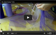 Come fare un tutu senza cucire http://hobby.donnatrendy.com/come-fare-un-tutu-senza-cucire/590/