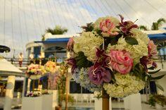 Flores #decoración boda.