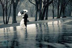 Rain on A Wedding Day!