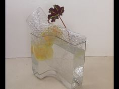Ikebana by Toula Ikebana Sogetsu, Glass Vase, Home Decor, Decoration Home, Interior Design, Home Interior Design, Home Improvement