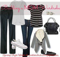 Goat & Lulu: Spring Style Week: Building a Mom Wardrobe