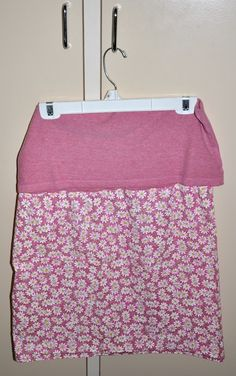 How to sew a yoga skirt- easy project!