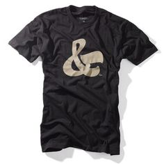 Ampersand Tee Men's now featured on Fab.