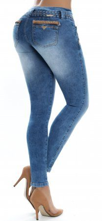 Jeans levanta cola WOW 86297 Azul