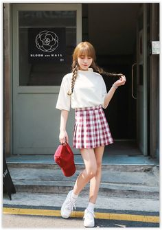 Anniversary Sale! Up to 80% OFF all items! Seoul Fashion - Mock-Neck Elbow-Sleeve Top