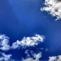 A lovely blue sky shot from our Editor