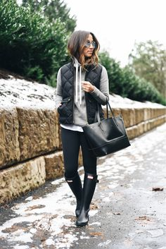 15 Rainy Day Outfits You Will Love To Copy                                                                                                                                                                                 More