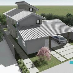 Casa S+I, Condomínio Portal do Sol Green - Goiânia-GO. #Fors #Ideias #Arquitetura #issoéFORS