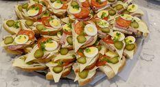 Ukrainian Kanapky - Open Face Sandwiches