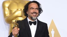 The Revenant director is awarded a special Oscar for virtual reality installation Carne y Arena.