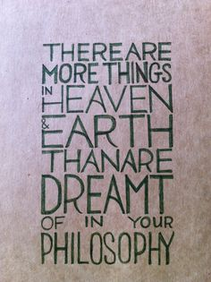 There are more things in Heaven Dictionary Art Hamlet Book William Shakespeare